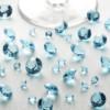 Tischkristalle Aquamarin
